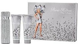 Парфюми, Парфюмерия, козметика Paris Hilton Paris Hilton Bling Edition - Комплект (парф. вода/100ml + лосион за тяло/90ml + душ гел/90ml)
