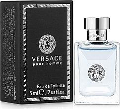 Versace Versace Pour Homme - Тоалетна вода (мини)  — снимка N1