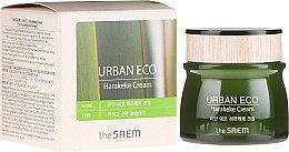 Парфюмерия и Козметика Подхранващ крем за лице - The Saem Urban Eco Harakeke Cream EX