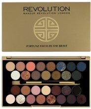 Парфюми, Парфюмерия, козметика Палитра сенки за очи, 30 цвята - Makeup Revolution Eyeshadow Palette Fortune Favours The Brave