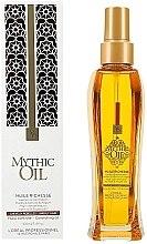 Парфюми, Парфюмерия, козметика Подхранващо масло за коса - L'Oreal Professionnel Mythic Oil Huile Richesse