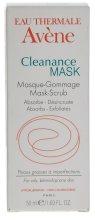 Парфюмерия и Козметика Пилинг маска за мажна кожа, склонна към акне - Avene Exfoliating Absorbing Cleanance Mask-Scrub