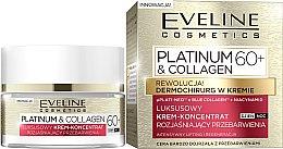 Парфюми, Парфюмерия, козметика Крем за лице 60+ - Eveline Platinum & Collagen