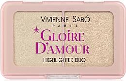 Парфюмерия и Козметика Палитра хайлайтъри - Vivienne Sabo Vs Gloire D'Amour