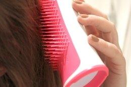 Четка за коса - Tangle Teezer Aqua Splash Pink Blush — снимка N5