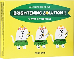 Парфюмерия и Козметика Комплект за лице - Some By Mi Yuja Niacin 30 Days Brightening Solution