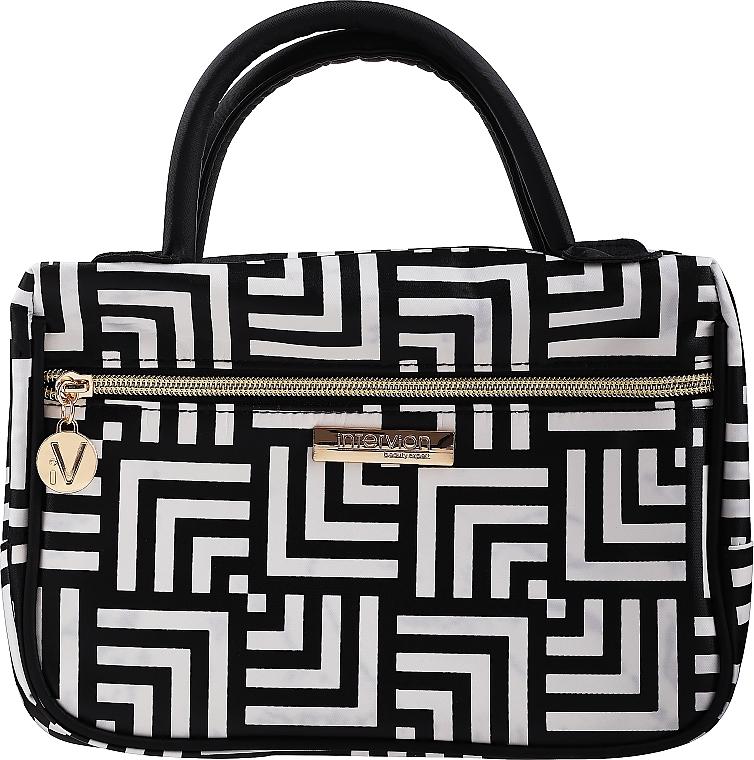 Козметична чанта Class, с дръжки, среден размер - Inter-Vion