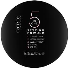 Парфюми, Парфюмерия, козметика Пудра за лице - Catrice 5 in 1 Setting Powder