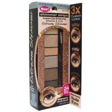 Парфюмерия и Козметика Палитра сенки за очи - Physicians Formula Shimmer Strips Shadow & Liner Extreme Shimmer