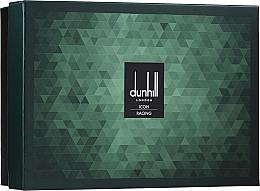 Парфюмерия и Козметика Alfred Dunhill Icon Racing Gift Set For Men - Комплект (тоал. вода/100ml + афтър шейв/90ml + душ гел/90ml + козм. несесер)