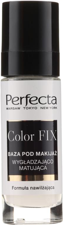Изглаждаща и матираща основа за грим - Perfecta Color Fix Make-up Base — снимка N1
