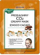 """Парфюми, Парфюмерия, козметика Маска за лице """"Шоколад"""" - Celkin Press & Shiny CO2 Creamy Mask"""