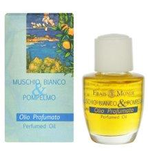 Парфюми, Парфюмерия, козметика Парфюмно масло - Frais Monde White Musk And Grapefruit Perfumed Oil