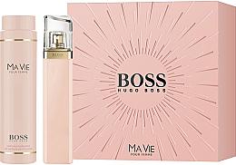 Парфюми, Парфюмерия, козметика Hugo Boss Boss Ma Vie Pour Femme - Комплект (парф. вода/75ml + лосион за тяло/200ml)
