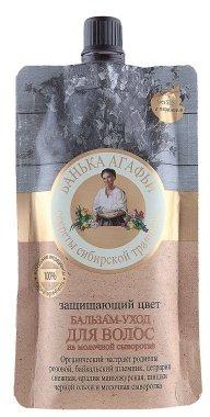 Защитаващ цвета балсам за коса - Рецептите на баба Агафия