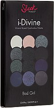 Парфюми, Парфюмерия, козметика Палитра сенки за очи - Sleek MakeUP i-Divine Mineral Based Eyeshadow Palette Bad Girl