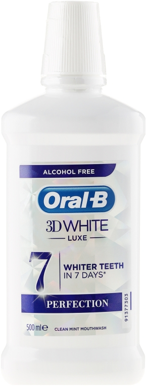 Вода за уста - Oral-b 3D White Luxe Perfection