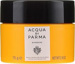 Моделираща глина за коса със средна фиксация - Acqua Di Parma Barbiere The Styling Clay Medium Hold — снимка N1