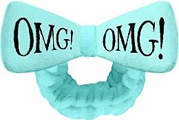 Парфюмерия и Козметика Козметична лента за коса, тюркоазена - Double Dare OMG! Blue Hair Band