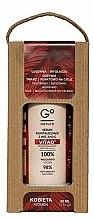 Парфюмерия и Козметика Възстановяващ серум за лице с витамини A+E+C - GoNature Revitalising Serum with vit. A+E+C Vitao°