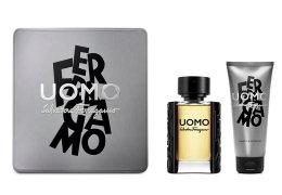 Парфюми, Парфюмерия, козметика Salvatore Ferragamo Uomo - Комплект (edt/50ml + sh/gel/100ml)