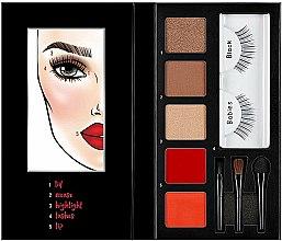 Парфюми, Парфюмерия, козметика Палитра за грим - Ardell Beauty Looks To Kill Eye & Lip Palette