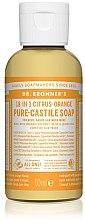 Парфюми, Парфюмерия, козметика Течен сапун с цитрус и портокал - Dr. Bronner's 18-in-1 Pure Castile Soap Citrus & Orange