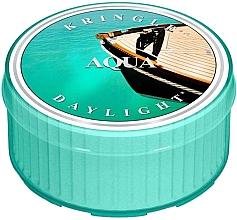 Парфюмерия и Козметика Чаена свещ - Kringle Candle Aqua Daylight