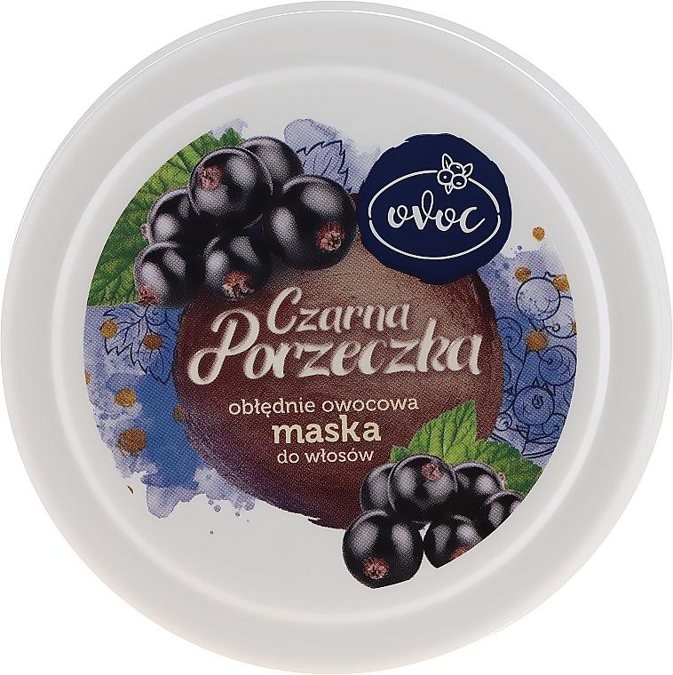 Маска за коса с екстракт от черен касис, копринен протеин и масло от шеа - Ovoc Czarna Porzeczka Mask — снимка N1