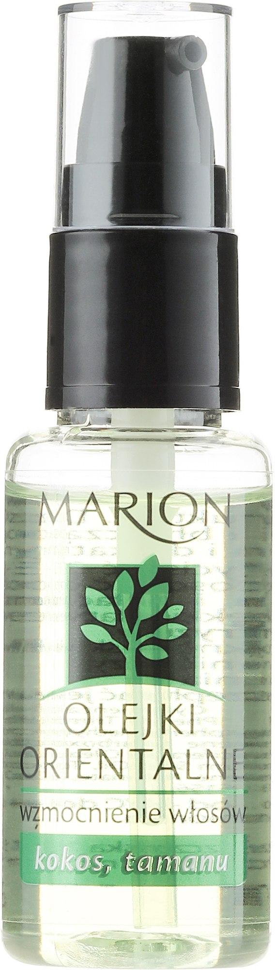 Масло за коса - Marion Strengthening Oriental Oil — снимка 30 ml