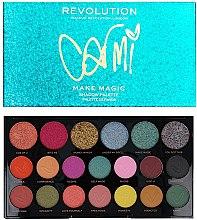 Палитра сенки за очи - Makeup Revolution X Carmi Make Magic Eyeshadow Palette — снимка N1