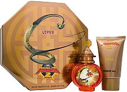Парфюми, Парфюмерия, козметика First American Brands Kung Fu Panda 2 Viper - Комплект (edt/100ml + душ гел/100ml + ключодържател)