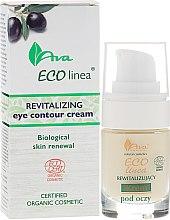 Парфюмерия и Козметика Възстановяващ крем за околоочния контур - Ava Laboratorium Eco Linea Revitalizing Eye Contour Cream