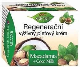 Парфюмерия и Козметика Възстановяващ крем за лице - Bione Cosmetics Macadamia Face Cream