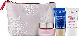 Комплект за лице - Clarins Multi-Active Collection (дневен крем/50ml + нощен крем/15ml+балсам/15ml+козм. чанта) — снимка N2