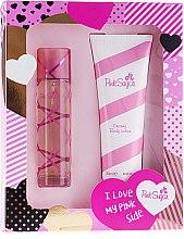Парфюми, Парфюмерия, козметика Aquolina Pink Sugar - Комплект (тоал. вода/100ml + лосион за тяло/250ml)