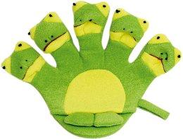 Парфюмерия и Козметика Детска ръкавица за баня - Titania Frog