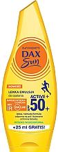 Парфюмерия и Козметика Слънцезащитна емулсия за тяло - Dax Sun Light Emulsion Active+ SPF50