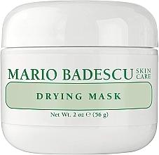 Парфюмерия и Козметика Маска за лице - Mario Badescu Drying Mask