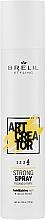 Парфюмерия и Козметика Спрей за коса със силна фиксация - Brelil Art Creator Strong Spray