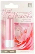 """Парфюми, Парфюмерия, козметика Хигиенично червило """"Нежни устни"""" с розов оттенък - Relouis"""