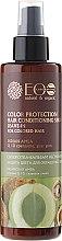 "Парфюмерия и Козметика Серум-балсам ""Защита на цвета"" за боядисана коса - ECO Laboratorie Color Protection Hair Conditioning Serum Leave-In Indian Amla"