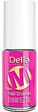 Парфюми, Парфюмерия, козметика Лак за нокти - Delia Cosmetics M-Size Neon Nail