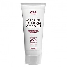 Парфюми, Парфюмерия, козметика Крем за лице с арганово масло - Avebio Anti Wrinkle Bio Cream Argan Oil