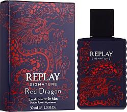Парфюмерия и Козметика Signature Replay Signature Red Dragon - Тоалетна вода