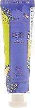 """Парфюмерия и Козметика Крем за ръце """"Теменужка"""" - Holika Holika Violet Sparkling Perfumed Hand Cream"""