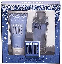 Парфюмерия и Козметика Madonna Divine - Комплект (тоал. вода/50ml+душ гел/100ml)