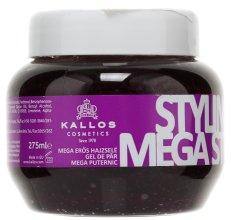 Парфюми, Парфюмерия, козметика Гел за моделиране на косата мегасилно фиксиране - Kallos Cosmetics Styling Gel Mega Strong