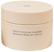 Парфюмерия и Козметика Почистващи тампони за лице - Omorovicza Peachy Micellar Cleansers