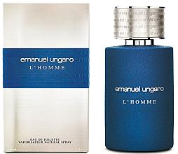 Парфюмерия и Козметика Ungaro L'Homme - Тоалетна вода